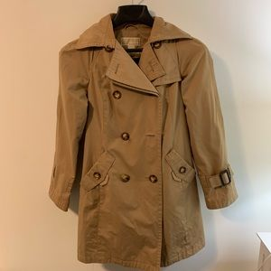 Michael Kors Jackets & Coats - Michael Kors Double Breasted Trench Coat w Hood